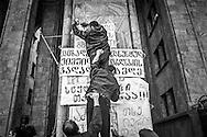 The Rose Revolution. Tbilisi. 2003