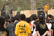 Midi Festival - rock concert in Beijing, China. - 2005
