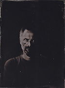 Iain, tintype portrait made with wetplate collodion process.