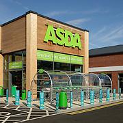 An ASDA supermarket store entrance
