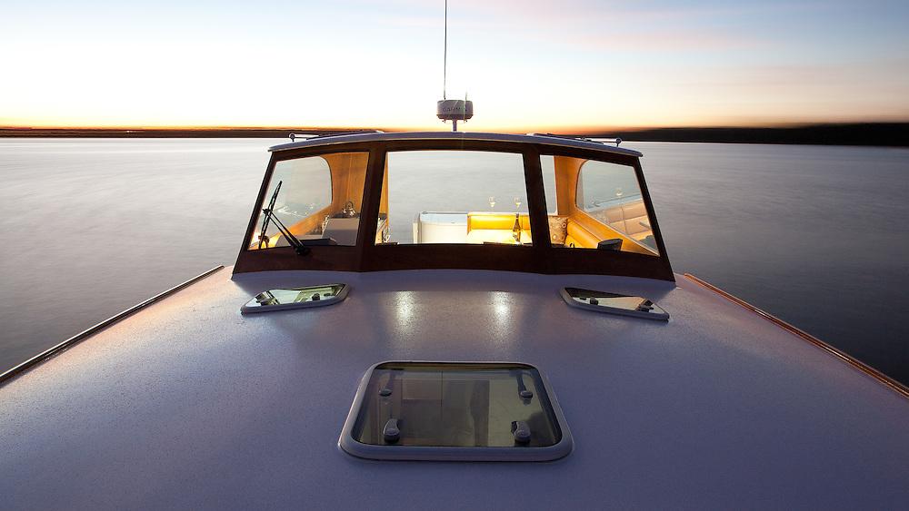 CLIENT: Salthouse Boatbuilders<br /> DESCRIPTION: Photography of new boat