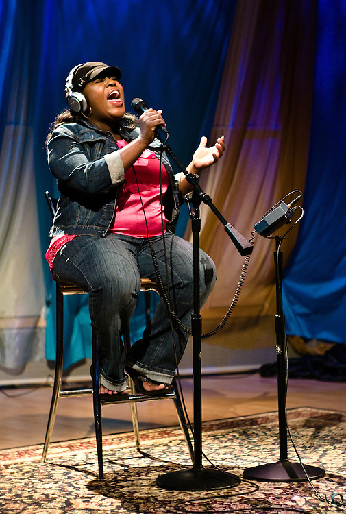 LaKisha Jones at SIRIUS XM Radio's Hugh Panero Performance Theater