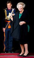 13-1-2016 AMSTERDAM Koning Willem-Alexander en Koningin Maxima houden woensdag 13  januari 2016 de traditionele Nieuwjaarsontvangst voor buitenlandse diplomaten in het paleis op de dam . prinses beatrix  prinses Margriet COPYRIGHT ROBIN UTRECHT<br /> AMSTERDAM 13-1-2016 King Willem-Alexander and Queen Maxima hold wensday, January 13th, 2016 the traditional New Year reception for foreign diplomats in the palace on the dam. princess beatrix Princess Margriet COPYRIGHT ROBIN UTRECHT