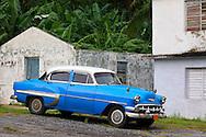 Car in Pinar del Rio, Cuba.