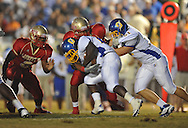Oxford High's Mont Dean (22) vs. Lafayette High at William L. Buford Stadium in Oxford, Miss. on Friday, September 2, 2011. Lafayette won 40-12
