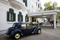 Sofitel Metropole is a 5 star historic luxury hotel built in 1901 in the French colonial style. It is located in Hanoi, Vietnam. The hotel has a rich history and a century-long tradition of welcoming ambassadors, writers, heads of state and entrepreneurs including Charlie Chaplin, Jane Fonda, George H. W. Bush, Fran&ccedil;ois Mitterrand, and Jacques Chirac. <br />
