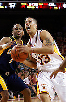 24 February 2007: #23 Keith Wilkinson during the NCAA Pac-10 Men's college basketball USC Trojans closes out its regular season at the Galen Center with a 84-66 win over the Cal Bears in Los Angeles, CA.