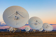The Very Large Array. Near Magdalena, New Mexico.