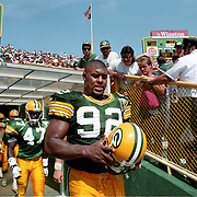 1993-Green Bay, Reggie White. Packers vs Eagles.