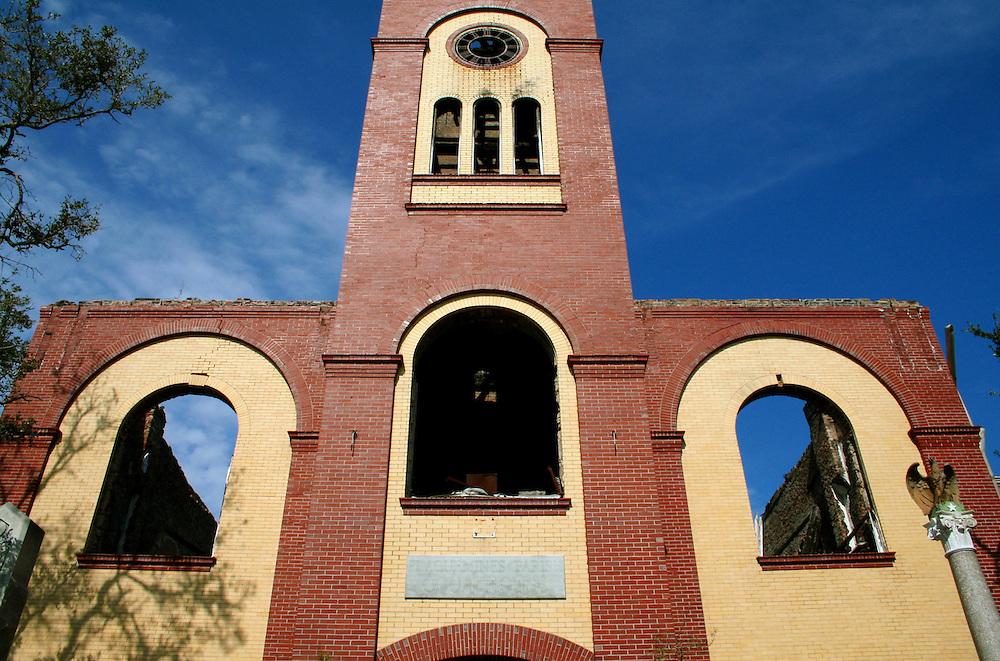 Ruins of City Hall, East Pointe a la Hache, LA