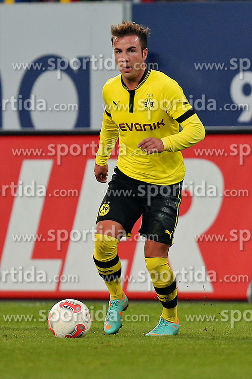 10.11.2012, SGL Arena, Augsburg, GER, 1. FBL, FC Augsburg vs Borussia Dortmund, 11. Runde, im Bild  Mario Goetze (# 10, Dortmund) (Freisteller) during the German Bundesliga 11th round match between FC Augsburg and Borussia Dortmund at the SGL Arena, Augsburg, Germany on 2012/11/1