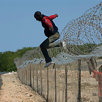 Zimbabweans immigrants Fence