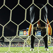 Republic of Ireland Goalkeepers David Forde (1) warming up prior to the start of the second half of inaugural freedom cup between Ireland and Costa Rica Friday. June. 6, 2014 at PPL Park in Chester PA.