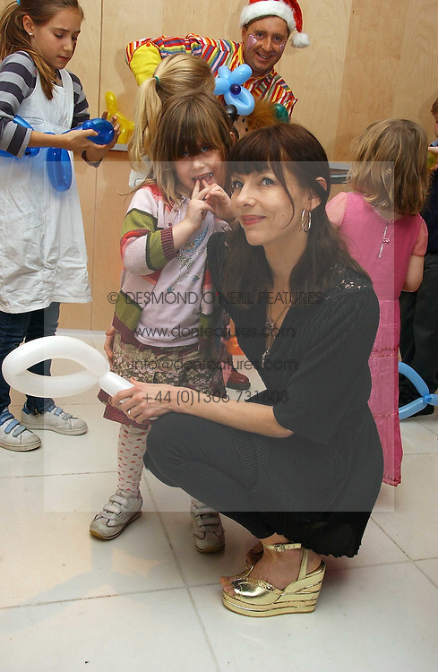 Fashion designer JEMIMA FRENCH and her daughter MEADOW at the English National Ballet's Mad Hatters Tea Party at St.Martins Lane Hotel, St Martins Lane, London on 12th December 2006.<br /><br />NON EXCLUSIVE - WORLD RIGHTS