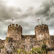 Conwy Castle / Conwy / Wales