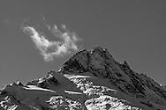 Alpha Mountain of the Tantalus Range in Tantalus Provincial Park, British Columbia, Canada