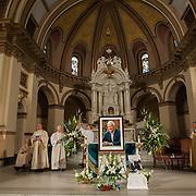 Memorial for Tom Foley, former U.S. Speaker of the House, at St. Aloysius Church in Spokane, Wash. Friday November 1, 2013. (Photo courtesy of Gonzaga University)