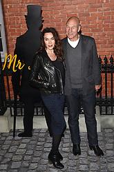 Guest and Sir Patrick Stewart attend Mr Holmes UK film premiere at Odeon Kensington, Kensington High Street, London on Wednesday 10 June 2015