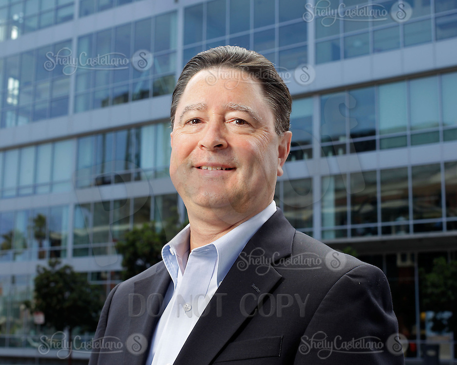 5 August 2013: Len Vetrone Senior Vice President leading National and International Business Units at Webcor Builders on location in San Francisco, California.