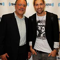 David Garrett and guests visit the studios of SiriusXM Satellite Radio in New York on June 6, 2012..Photo Credit ; Rahav Iggy Segev / Photopass.com
