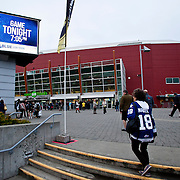 Victoria Royals vs Spokane Chiefs Sep 24, 2013