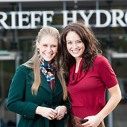 The Miss World 2011 contestants at Crieff Hydro, Perthshire.