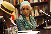 "l to r: Anthony Chisolm and Ruby Dee at the reading of ' Letters from Black America "" A Dramatic Reading with Editor Pamela Newkirk and actors Ruby Dee and Anthony Chisholm held at Barnes & Noble at 82nd Street on July 15, 2009 in New York City"