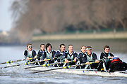 """London; GREAT BRITAIN; Cambridge crew {bake} racing  University Trial Eights for crew selection for 157th Boat Race [April 2011]  raced over the Championship Course Putney to Mortlake  on the River Thames. Wednesday  - 08/12/2010   [Mandatory Credit; """"Photo, Peter Spurrier/Intersport-images].Crew. CUBC. Bake; Middx Station.Bow, Nick EDELMAN, 2. Charlie PITT-FORD, 3. Josh PENDRY, 4. Alex ROSS, 5. Geoff ROTH, 6. Derek RASUSSEN, 7. David NELSON, Stroke. Mike THORP and cox Liz BOX."""