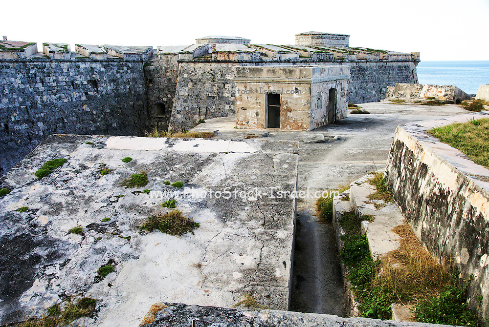 Fortaleza de San Carlos de la Cabaña (Fort of Saint Charles), 18th-century fortress complex, located on the elevated eastern side of the harbor entrance in Havana, Cuba.