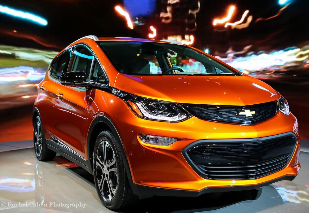 &quot;Chevrolet Bolt EV&quot;<br /> <br /> Just seen at The 2016 NAIAS in Detroit Michigan, the beautiful Chevrolet Bolt EV!