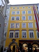 Mozart house Salzburg Austria
