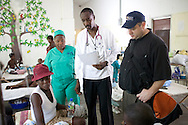 at the Hospital Albert Schweitzer on Saturday, October 30, 2010 in Deschapelles, Haiti.
