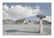 Hoodoos at Bisti Badlands, Bisti/De-Na-Zin Wilderness, New Mexico
