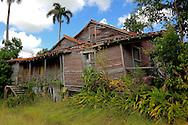 Old wooden house in Parque Nacional la Guira, Pinar del Rio Province, Cuba.