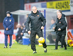 Dundee United&rsquo;s manager Mixu Paatelainen. <br /> Dundee 2 v 1  Dundee United, SPFL Ladbrokes Premiership game played 2/1/2016 at Dens Park.