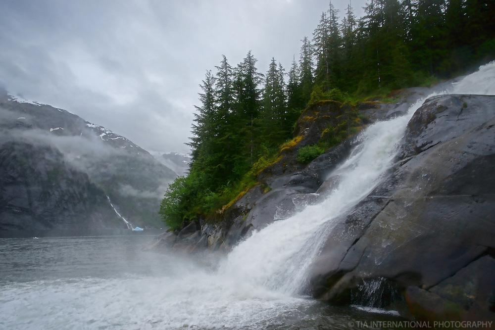 Tracy Arm Falls
