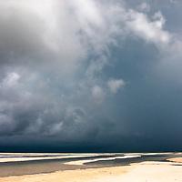 Storm clouds over Paje beach, Zanzibar
