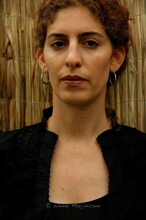 Palestinian filmmaker AnneMarie Jacir in Cannes with her movie 'Salt of this sea'. Selected in 'Un certain regard' at the film festival. Cannes, France, 2008