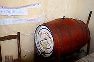 Barrel of rum in Puerto Padre, Las Tunas, Cuba.