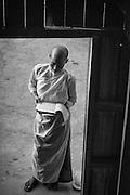 Nuns at Thi Ri Zay Yar monastery in Nyaung Shwe.