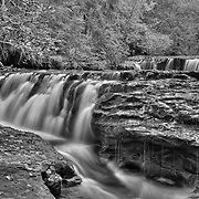 Oregon Waterfalls (B/W)