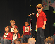 "Bramlett Elementary students perform ""The ABC's of Going to School"" on Friday, February 19, 2010."