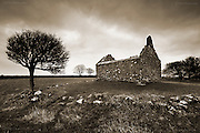 I had been to photograph the ancient Roman settlement of Din Lligwy in the rain, but this derelict old chapel moved me most. At one time this building would have been part of the fabric and centre of local community but in an age where materialism and self preservation have become the game it was quite disheartening even as an agnostic that so much of our spiritual being has crumbled with the stone, the trees bearing witness to once was.