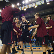 12/30/11 Newark DE: Temple Senior Guard #4 Juan Fernandez being introduced prior to a NCAA basketball game against Delaware Friday, Dec. 30, 2011 at the Bob carpenter center in Newark Delaware.<br /> <br /> Rahlir Jefferson-Hollis led the Owls with 13 points and eight rebounds, Anthony Lee added a career-high 12 points, seven rebounds, and three blocks, Juan Fernandez contributed 11 points, and Ramone Moore chipped in with 10 points and a game-high six assists.