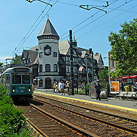 Brookline Coolidge Corner Pierce Building. <br />