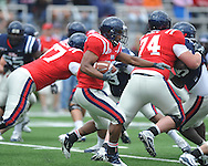 Ole Miss' Devin Thomas (29) at Grove Bowl in Oxford, Miss. on Saturday, April 16, 2011.