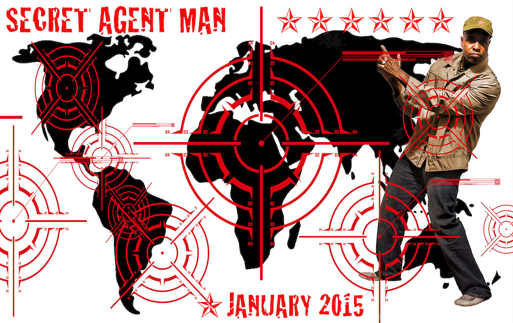 "NOVEMBER 13th:  ""Secret Agent Man"""