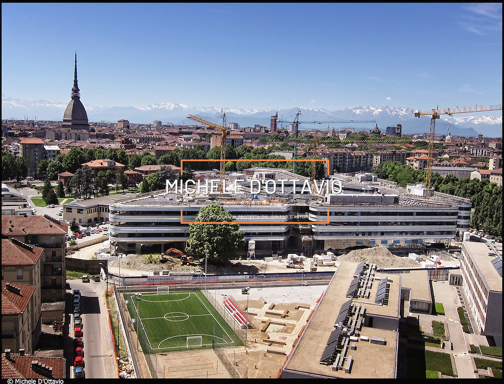 Torino area ex Italgas cantiere Facoltà di Giurisprudenza e Scienze Politiche.