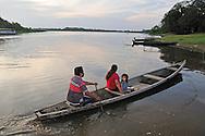 Amazon River,near Puerto Narino, Colombia