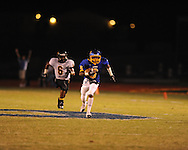 Oxford High's Stan Ivy scores on an 81 yard touchdown pass in the third quarter vs. Charleston at Bobby Holcomb Field in Oxford, Miss. on Friday, August 27, 2010. Oxford won 24-14 to improve to 2-0.